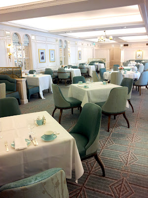 Fortnum & Mason tea room in London