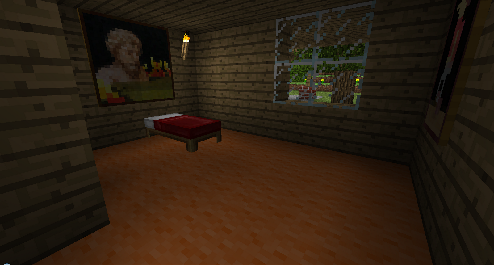 Modern Bedroom Minecraft Minecraft Minecraft Modern House