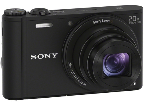 Sony WX350 với zoom quang học 20x