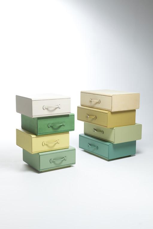 *皮革手提行李箱組合櫃:設計師Maarten de ceulaer探索世界旅行熱情! 4