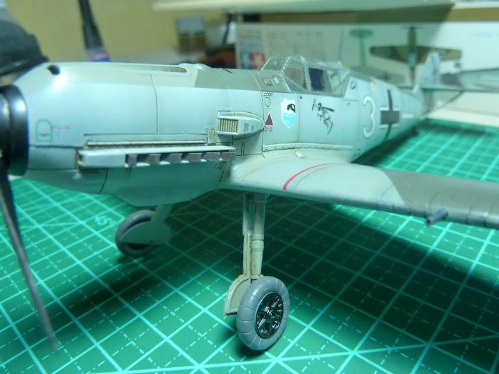 Bf-109 E-3 Tamiya 1/48 - Reforma pintura P1020574