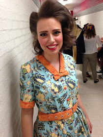 Ms. TeaVee 50s vintage dress from Willy Wonka