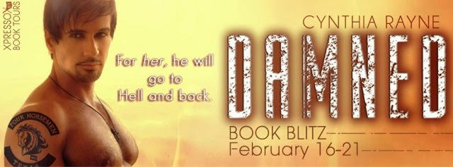 Book Blitz: Damned by Cynthia Rayne