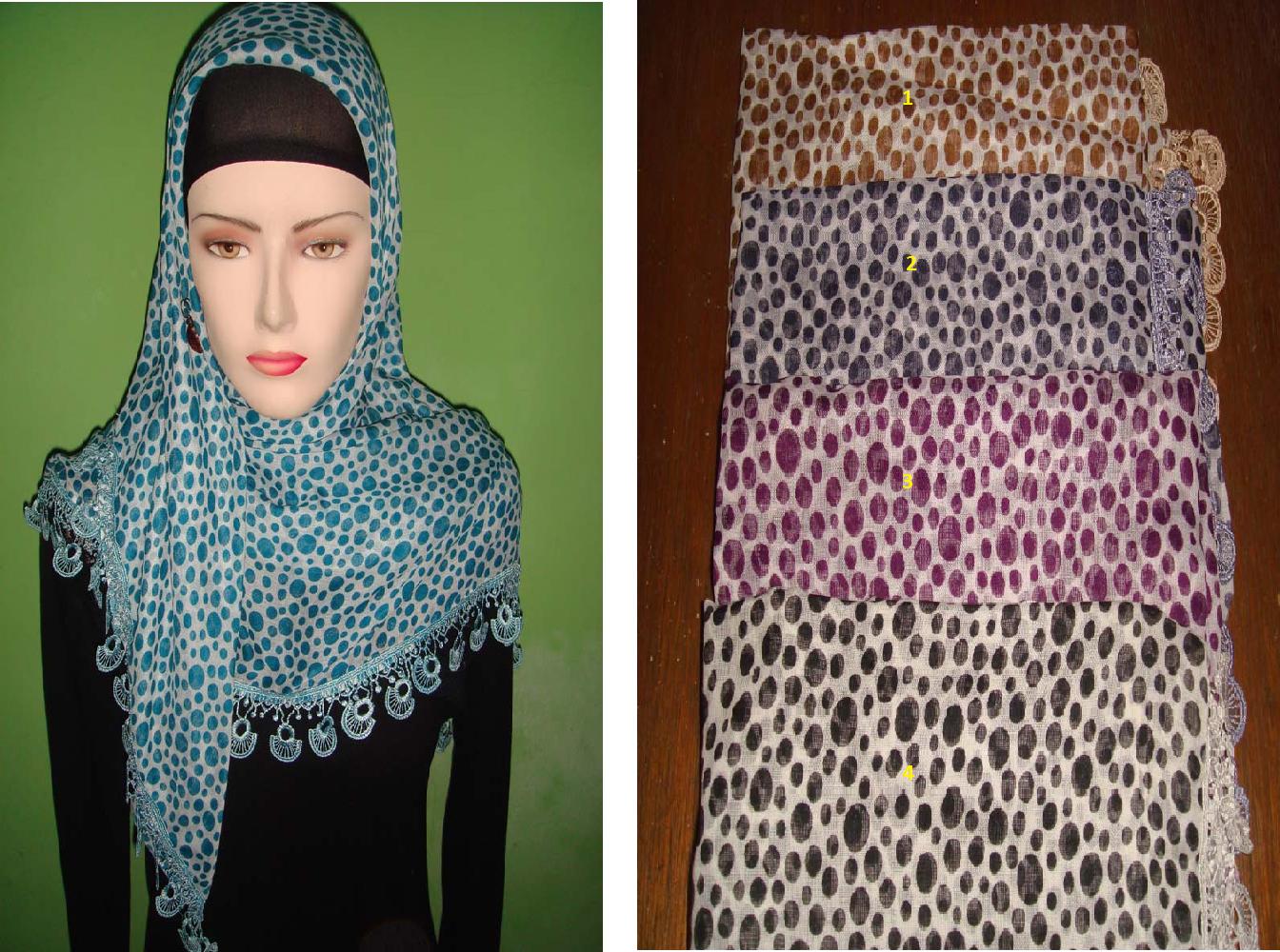 Kreasi Jilbab Segi Empat Polos Tutorial Memakai 4 Share Paris Sederhana 2013 Cara Dan Mudah