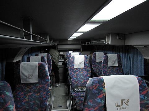 JR東海バス「ドリームなごや1号」 ・917 車内