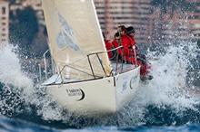 J/24 one-design sailboat- sailing Primo Cup Monaco- Monte Carlo