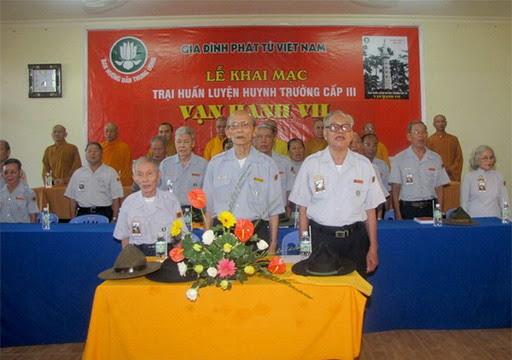 GĐPTVN (Quốc Nội) khai mạc Trại Huấn Luyện Huynh Trưởng Vạn Hạnh VII/T.Ư