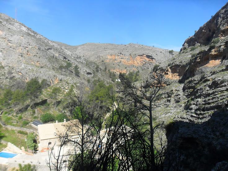 zona de Escalada Barranc dels Tarongers Sector Granainos 2 3