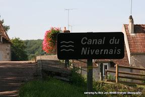 fietsen Canal du Nivernais Chevroches