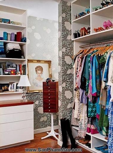 Thiết kế tủ quần áo: Một số thủ thuật giúp tăng diện tích để quần áo-4