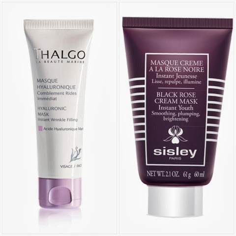Thalgo and Sisley Face Masks