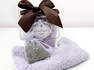 Peaceful Dreams Lavender Sachet and Eye Pillow