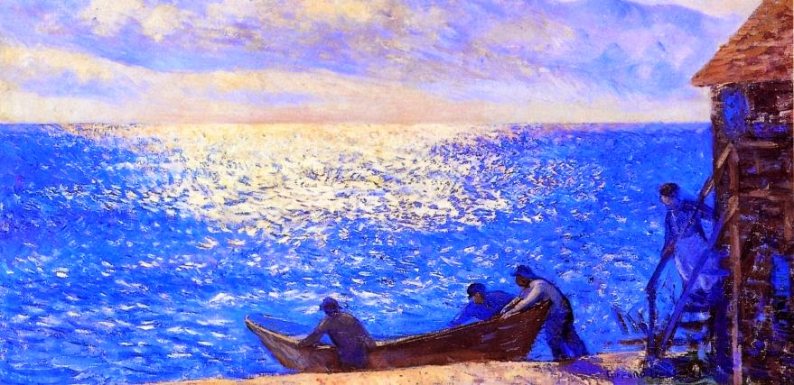 Gifford Beal - Setting out to Sea