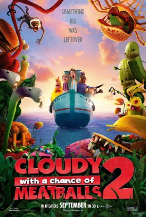 Picture Poster Wallpapers Cloudy with a Chance of Meatballs 2 (2013) Full Movies