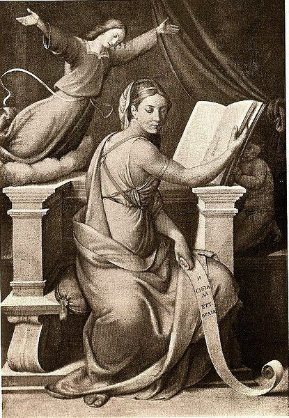 Johann Friedrich Overbeck - Sibyl of Erythre