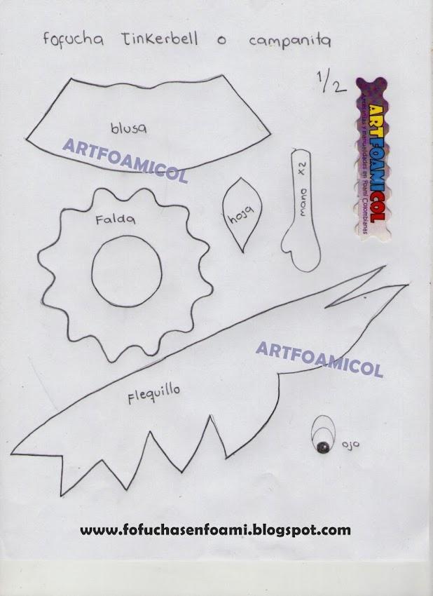 Boneca De Eva Tinker Bell Em 3d Passo A Passo Artesanato Brasil
