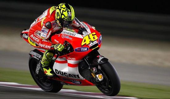 valentino rossi ducati qatar. Valentino Rossi Tim Ducati