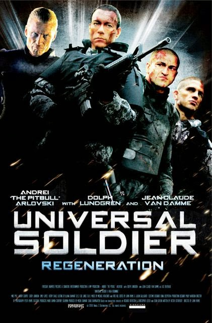 Poster Of Universal Soldier: Regeneration (2009) Full Movie Hindi Dubbed Free Download Watch Online At Alldownloads4u.Com