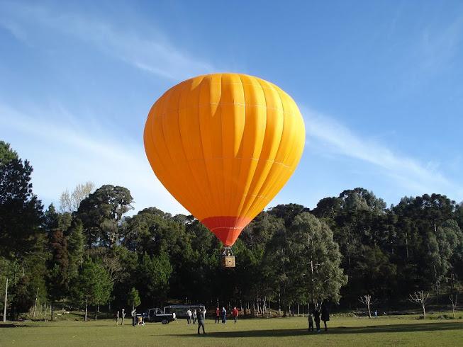voo de balão na feijoada de inverno 2012