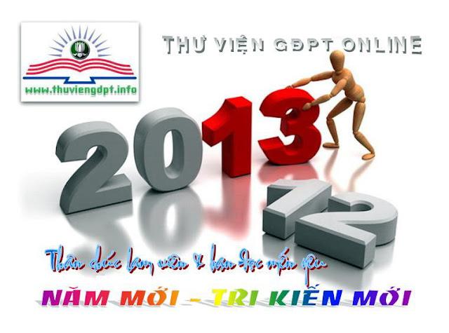 Chúc mừng năm mới 2013