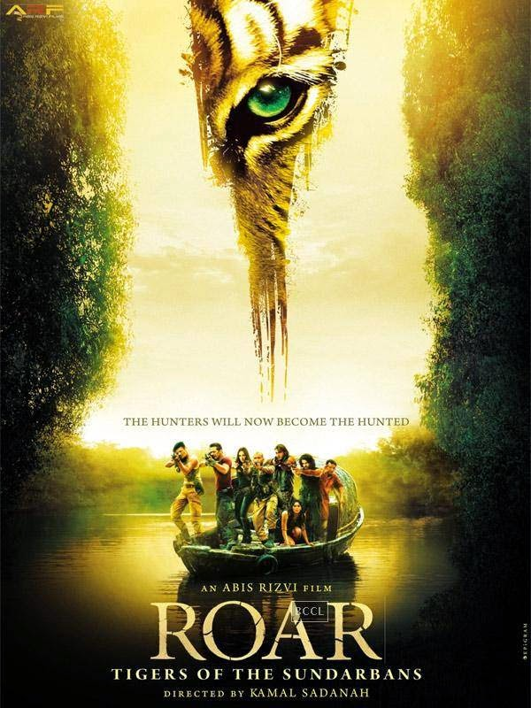 Poster of Bollywood action adventure film Roar.