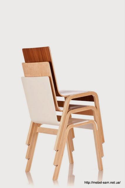 Стулья zipper chair отлично вкладываются один в один