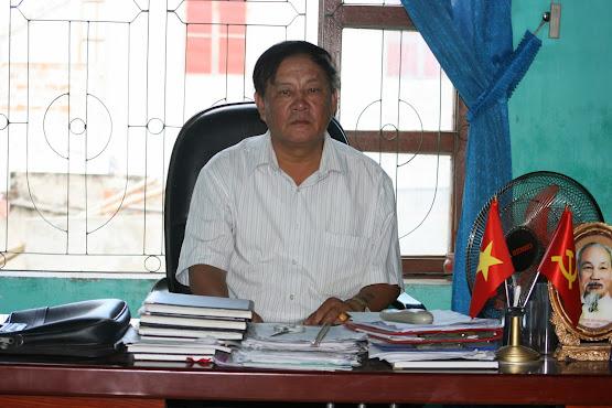 Ông Trương Xuân Thu - Bí thư Đảng bộ xã