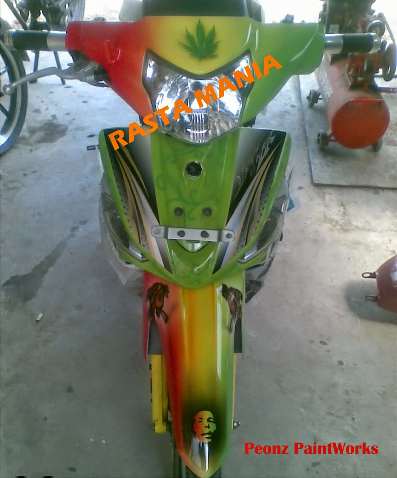 modifikasi vega zr drag