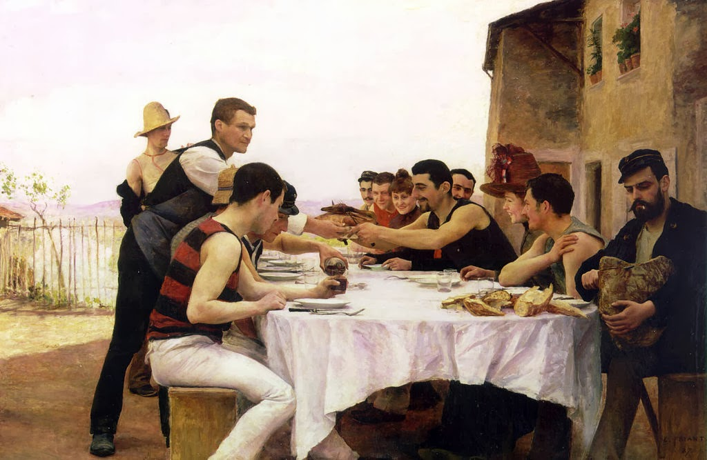 Émile Friant - The Meurthe Boating Party