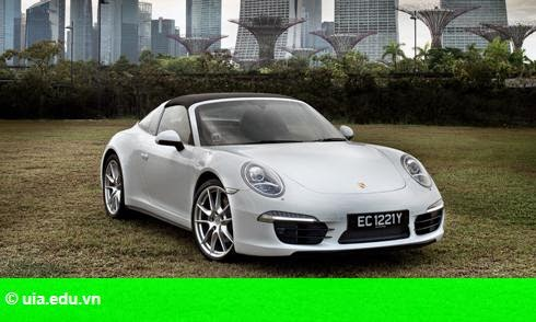 Hình 1: Porsche 911 Targa 4 đi tìm sự tự do phóng khoáng