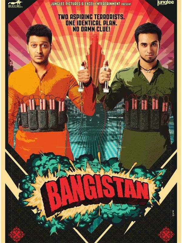 First look of Bollywood comdedy film Bangistan starring Riteish Deshmukh and Pulkit Samrat.