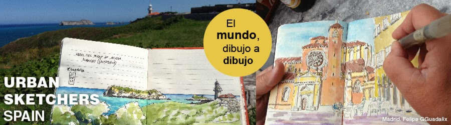 Urban Sketchers Spain. El mundo dibujo a dibujo.