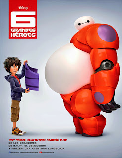 Big Hero 6 (6 Grandes Héroes) (2014)