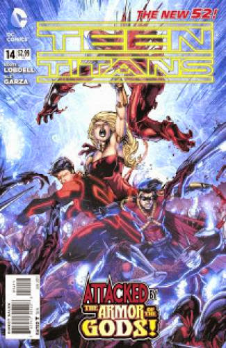 Guest Reviews Teen Titans 14 The Origin Of Wonder Girl Part 2