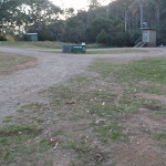 Main camping area