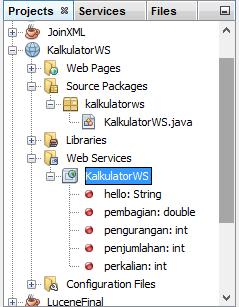 membuat layanan web services di netbeans dengan java