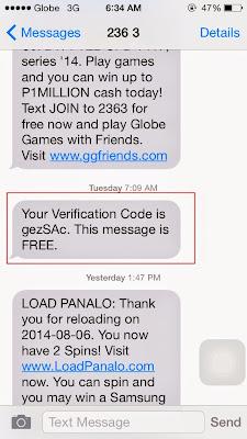 Globe Load Panalo Verification Code