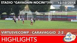 VirtusVecomp - Caravaggio - Highlights del 12-10-2014