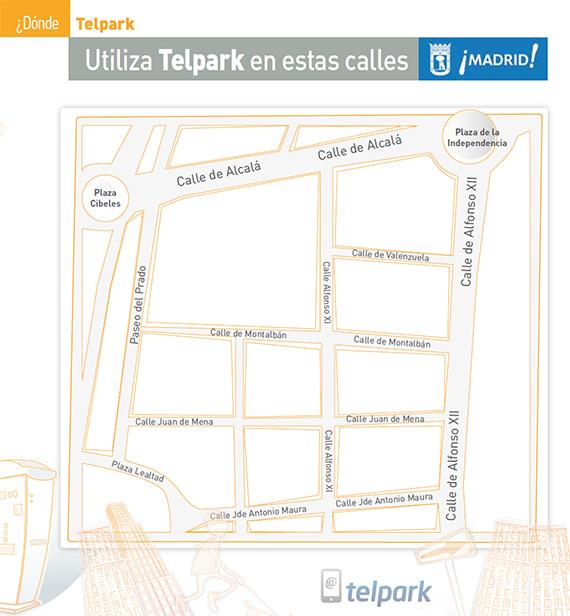 Utiliza los parquímetros desde el móvil con Telpark