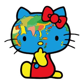 *Hello Kitty長嘴了:Javier Mariscal繪歪臉新面貌! 8