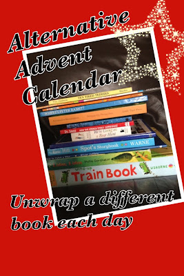 Emma in Bromley - alternative advent calendar - open a new book each day