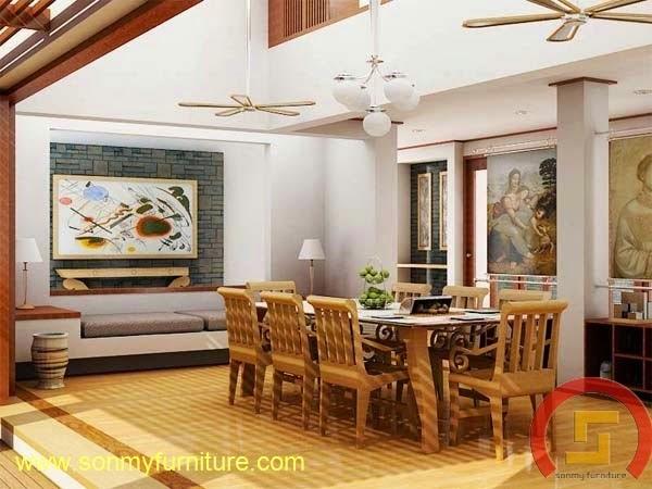 Mẫu thiết kế nội thất gia đình SMF732