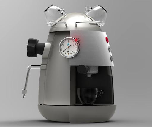 Industrious Coffee Machine