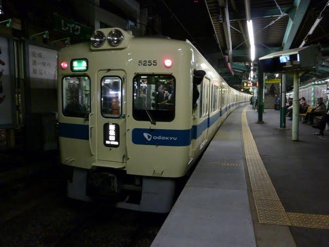 小田急電鉄 準急 新松田行き3 5000形(東京電力計画停電に伴う運行)