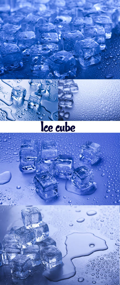 Stock Photo: Ice cube 4