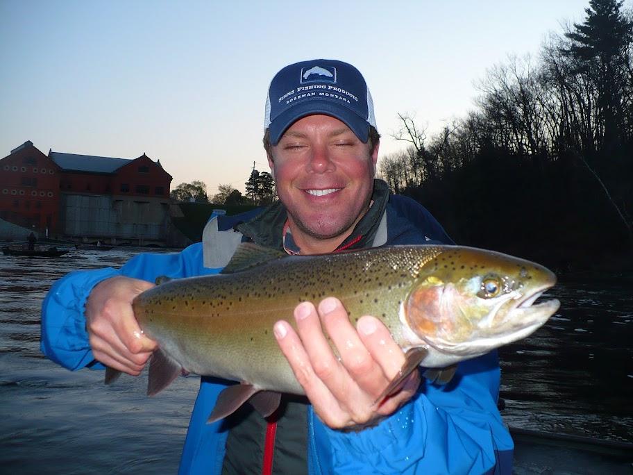 muskegon river steelhead float fishing