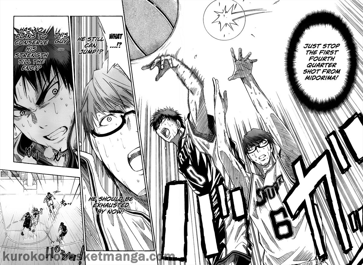 Kuroko no Basket Manga Chapter 33 - Image 10-11