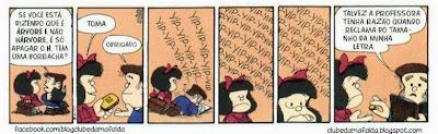 Clube da Mafalda:  Tirinha 745