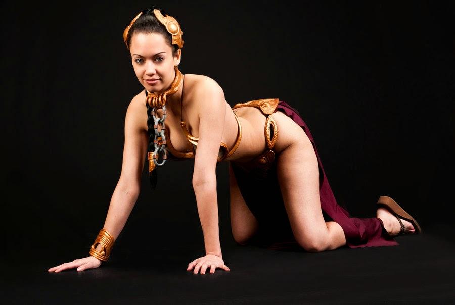 Disfraces de princesa leia bikini uu