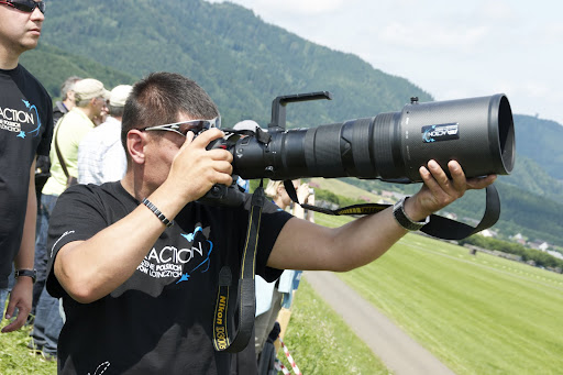 Spotter in Aktion